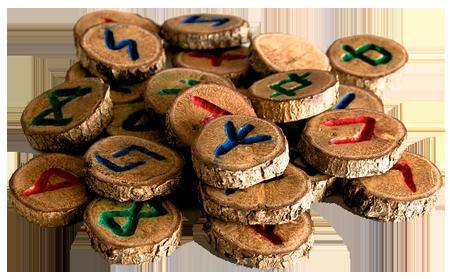 Runen, Runen Orakel und die Bedeutung